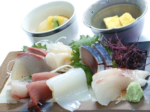 朝獲れ旬魚お刺身定食